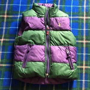 Ralph Lauren reversible toddler vest